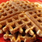 Churro Waffles: 3ten.ca #churro