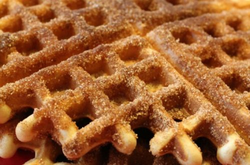 Churro Waffles: 3ten.ca