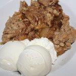 Apple Crumble: 3ten.ca #dessert