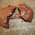 Carmel Stuffed Chocolate Cookies: 3ten.ca