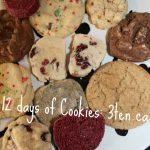 12 Days of Cookies: 3ten.ca #cookies #holiday #treats