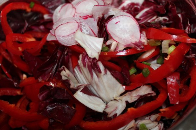 Red Salad: 3ten.ca #salad
