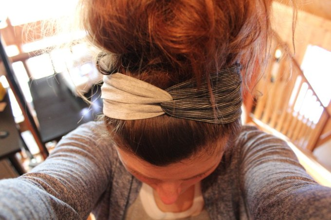 Headband: 3ten.ca #diy #sewing