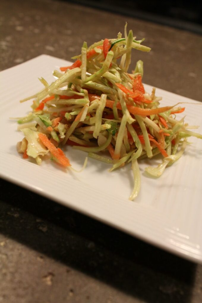 Asian Slaw with Vinaigrette: 3ten.ca #salad #vinaigrette