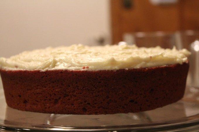 Natural Red Velvet Cake: 3ten.ca #cake #redvelvet #baking