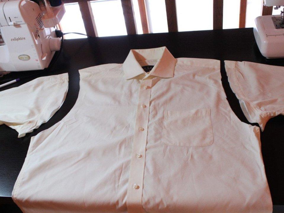 Men's Dress Shirt to Vest: 3ten.ca