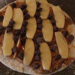 Apple Peanut Butter Burrito: 3ten.ca #apple #peanutbutter #breakfast