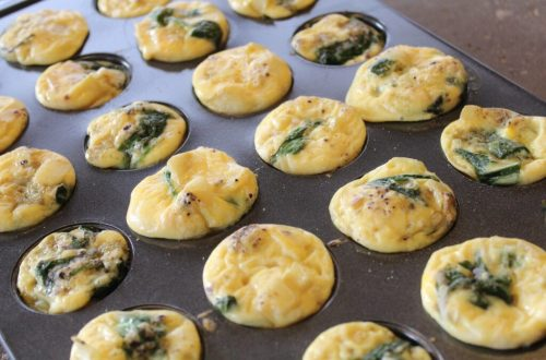 Spinach and Onion Eggs: 3ten.ca