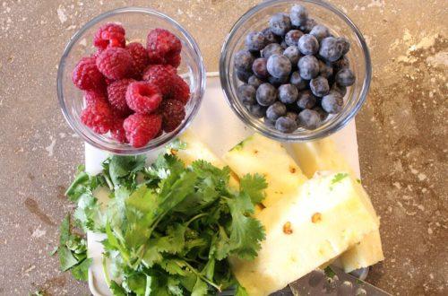 Berry Pineapple Juice: 3ten.ca