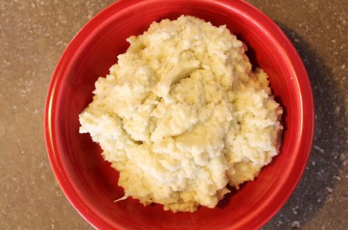 Mashed Cauliflower: 3ten.ca