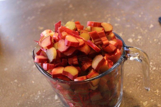 Summerlicious Rhubarb Squares: 3ten.ca #rhubarb