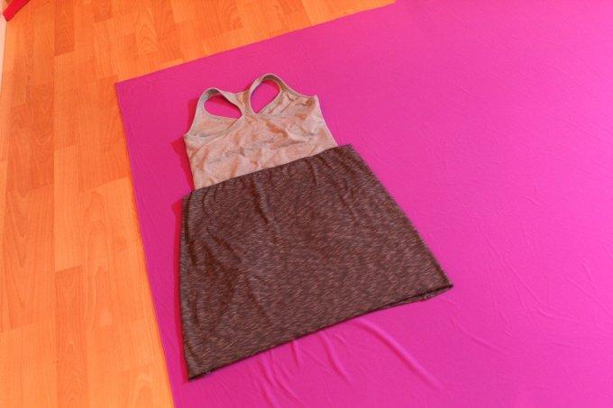 Racerback Dress: 3ten.ca #sewing #diy #tutorial