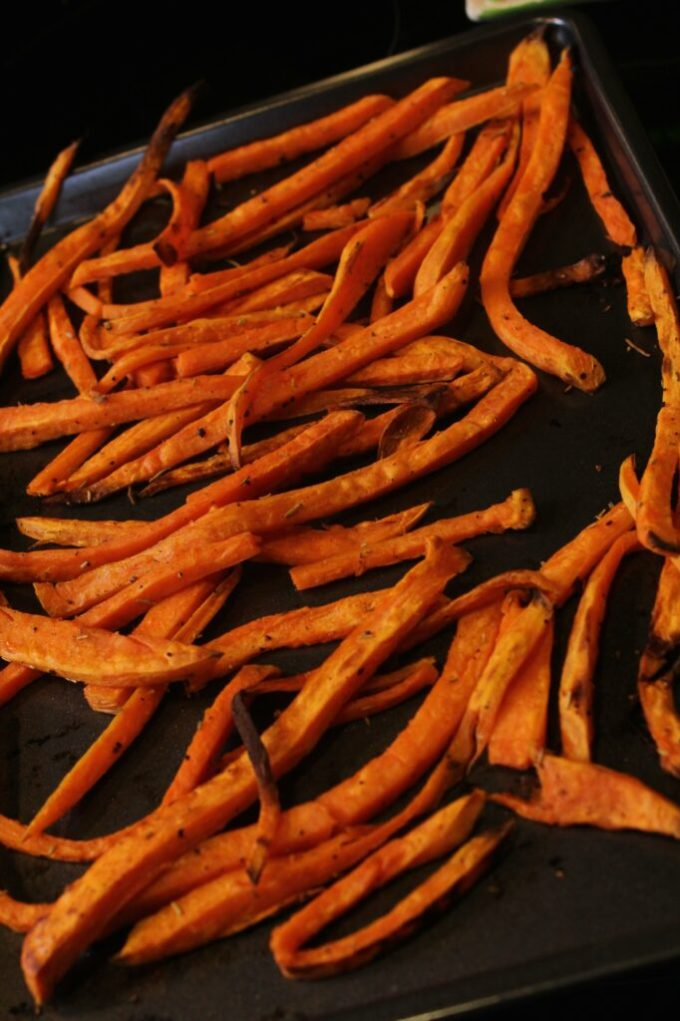 Sweet Potato Fries: 3ten.ca #sweetpotato