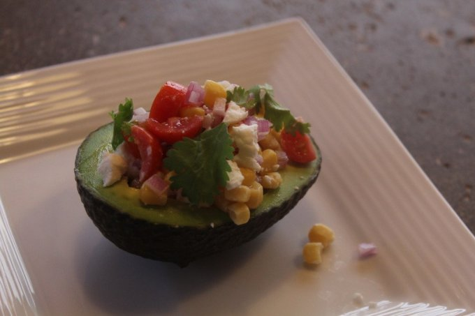 Fresh Stuffed Avocado: 3ten.ca