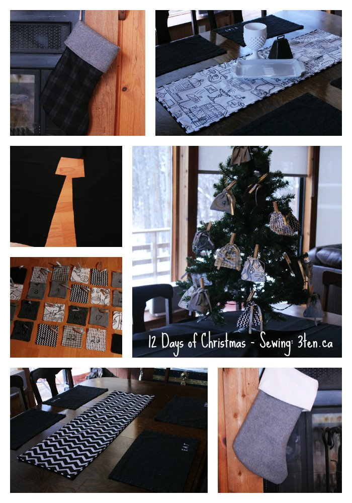 12 Days of Christmas - Sewing: 3ten.ca