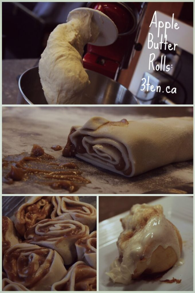 Apple Butter Rolls: 3ten.ca