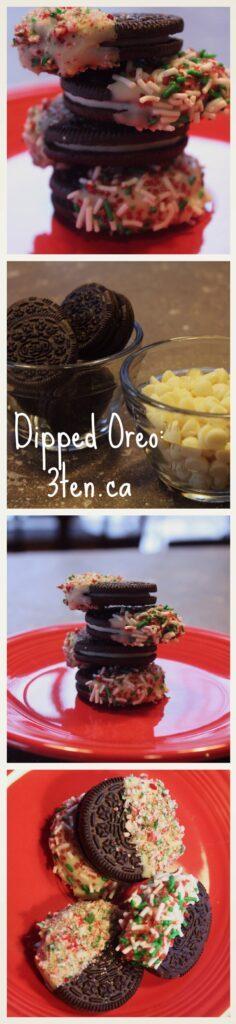 Dipped Oreo: 3ten.ca