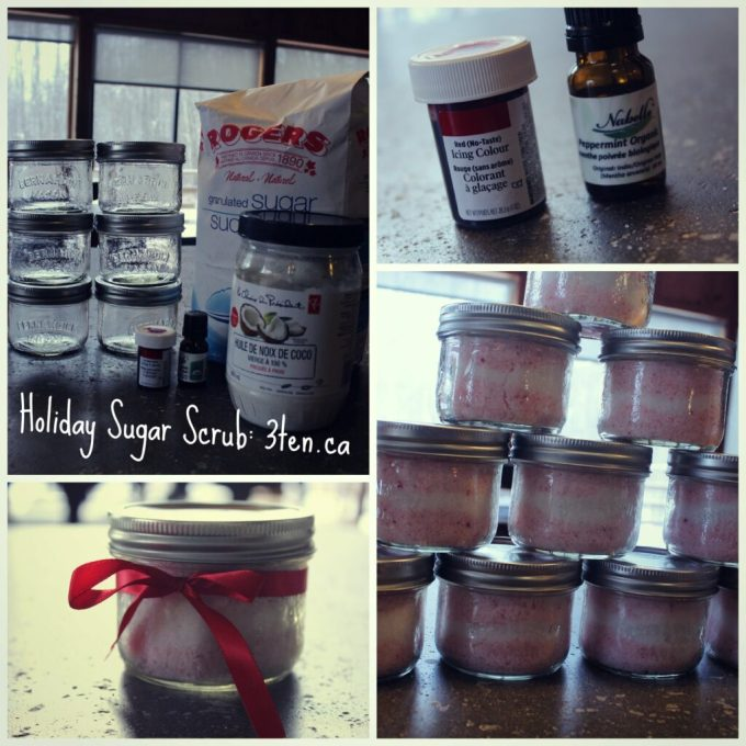 Holiday Sugar Scrub: 3ten.ca