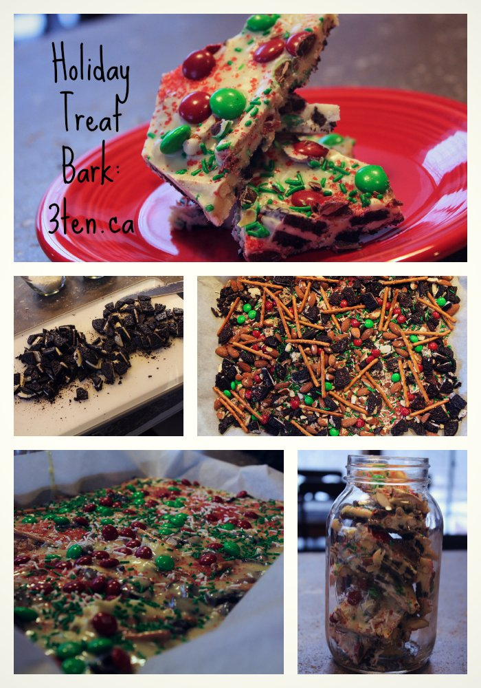 Holiday Treat Bark: 3ten.ca