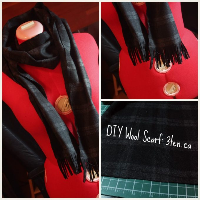 DIY Wool Scarf: 3ten.ca