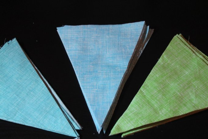 Triangle Quilt: 3ten.ca