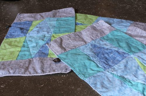 Quilt Burp Cloths: 3ten.ca