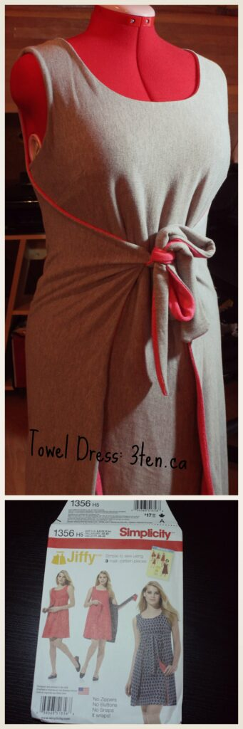 DIY Towel Dress: 3ten.ca