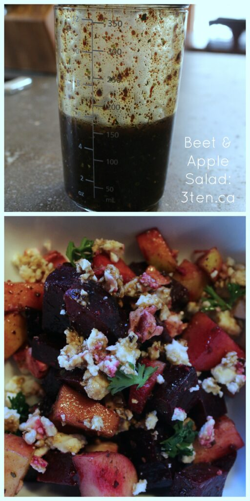 Beet & Apple Salad: 3ten.ca