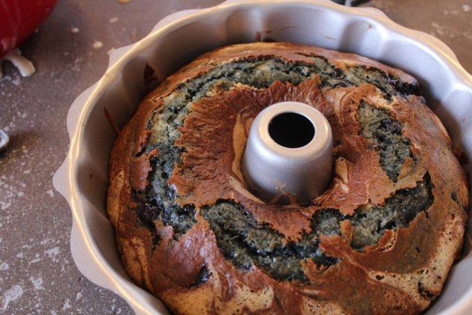 Blueberry Bundt Cake: 3ten.ca