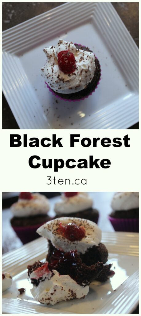 Black Forest Cupcake: 3ten.ca