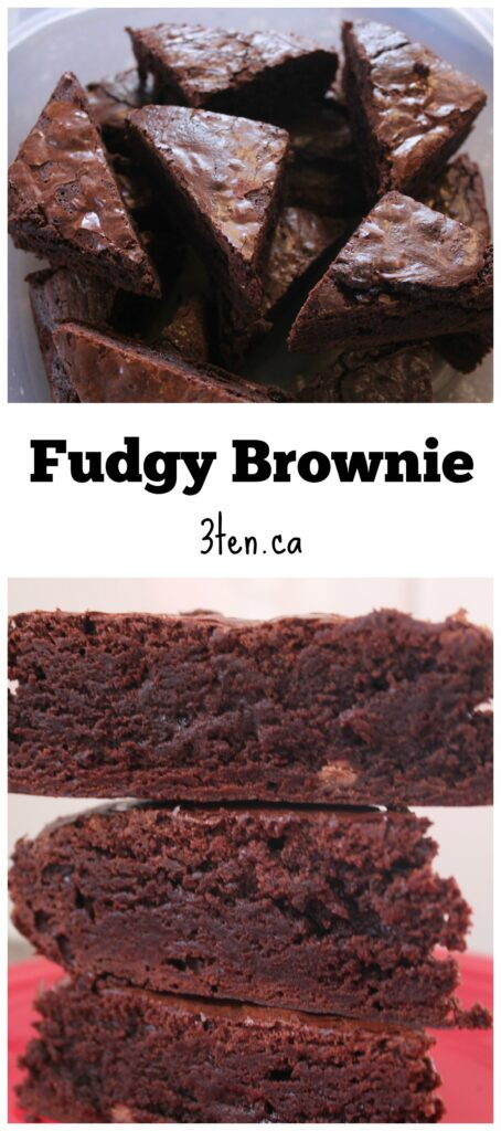 Fudgy Brownie: 3ten.ca