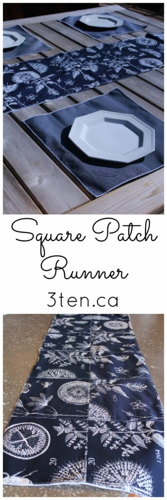 Square Patch Runner: 3ten.ca