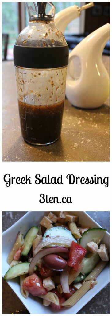 Greek Salad Dressing: 3ten.ca
