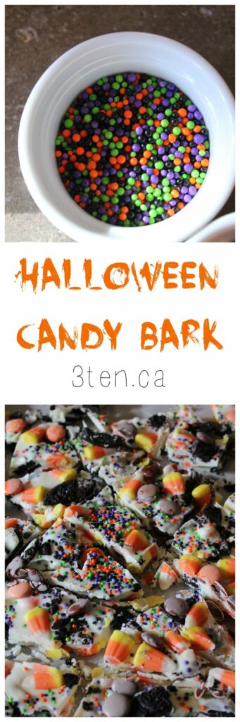 Halloween Candy Bark: 3ten.ca