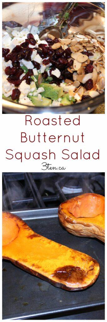 Roasted Butternut Squash Salad: 3ten.ca