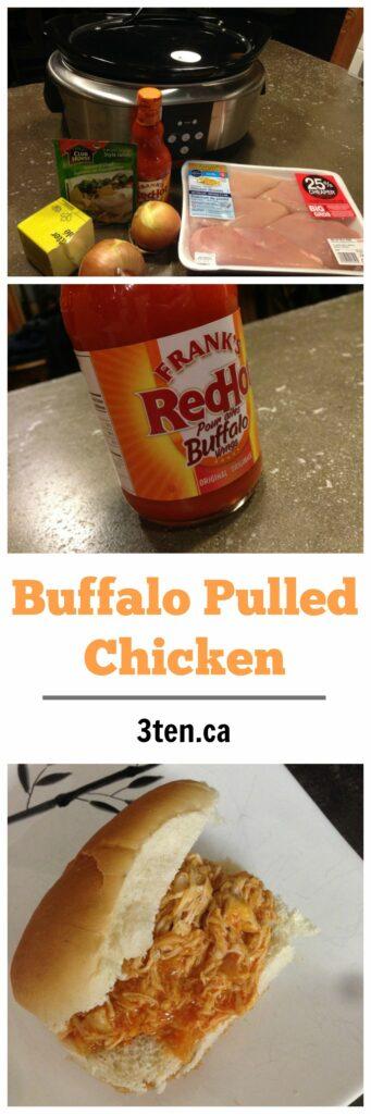 Buffalo Pulled Chicken: 3ten.ca