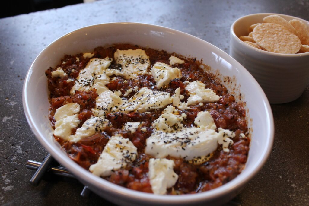 Salsa and Goat Cheese: 3ten.ca