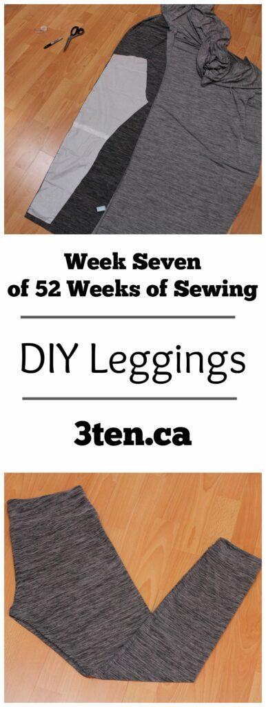 DIY Leggings: 3ten.ca