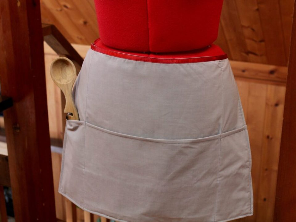 Pillowcase Apron: 3ten.ca