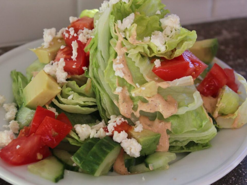 Avocado Wedge Salad: 3ten.ca
