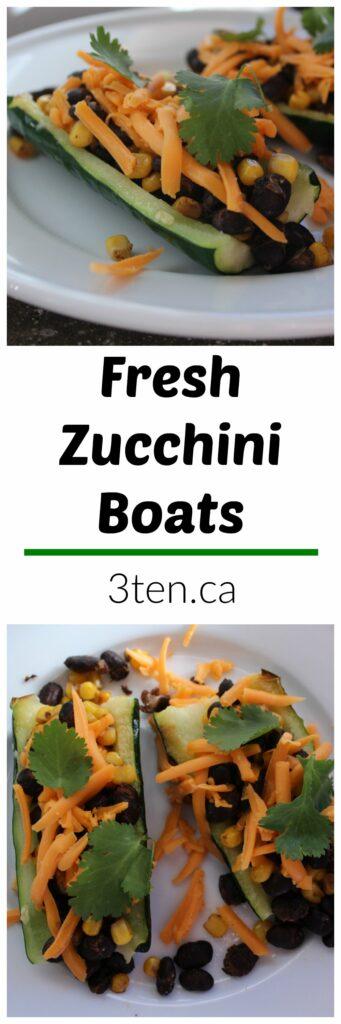 Fresh Zucchini Boats: 3ten.ca