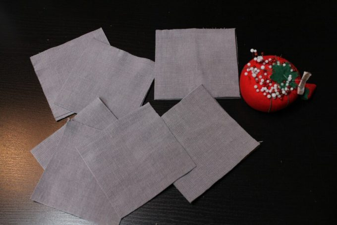 Square Rice Filled Pattern Weights: 3ten.ca