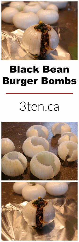 Black Bean Burger Bombs: 3ten.ca