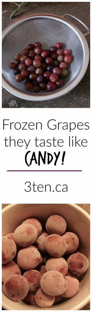 Frozen Grapes: 3ten.ca