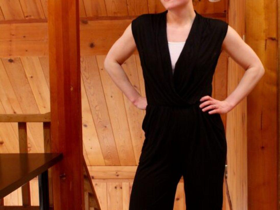 Black Jumpsuit: 3ten.ca