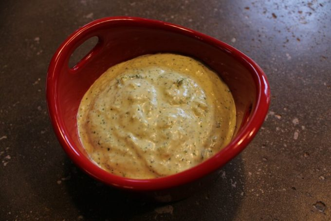 Jalapeno Cilantro Cream Cheese Sauce: 3ten.ca