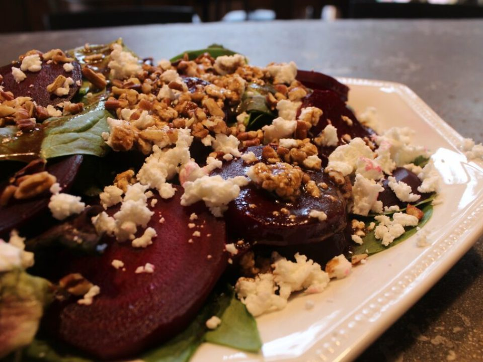 Beet Goat Cheese Salad: 3ten.ca