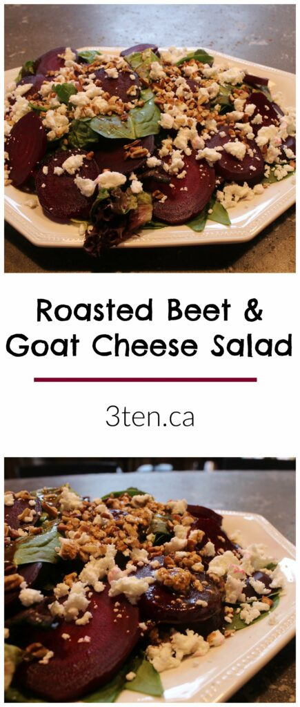 Roasted Beet and Goat Cheese Salad: 3ten.ca