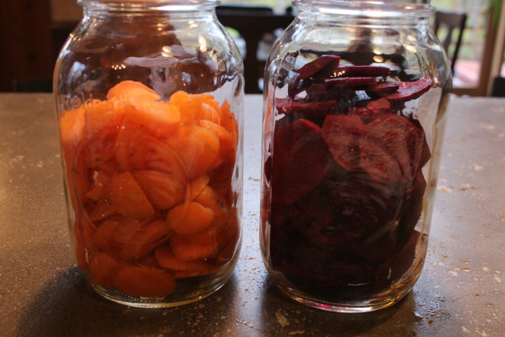 Recipe: Pickled Beets and Carrots