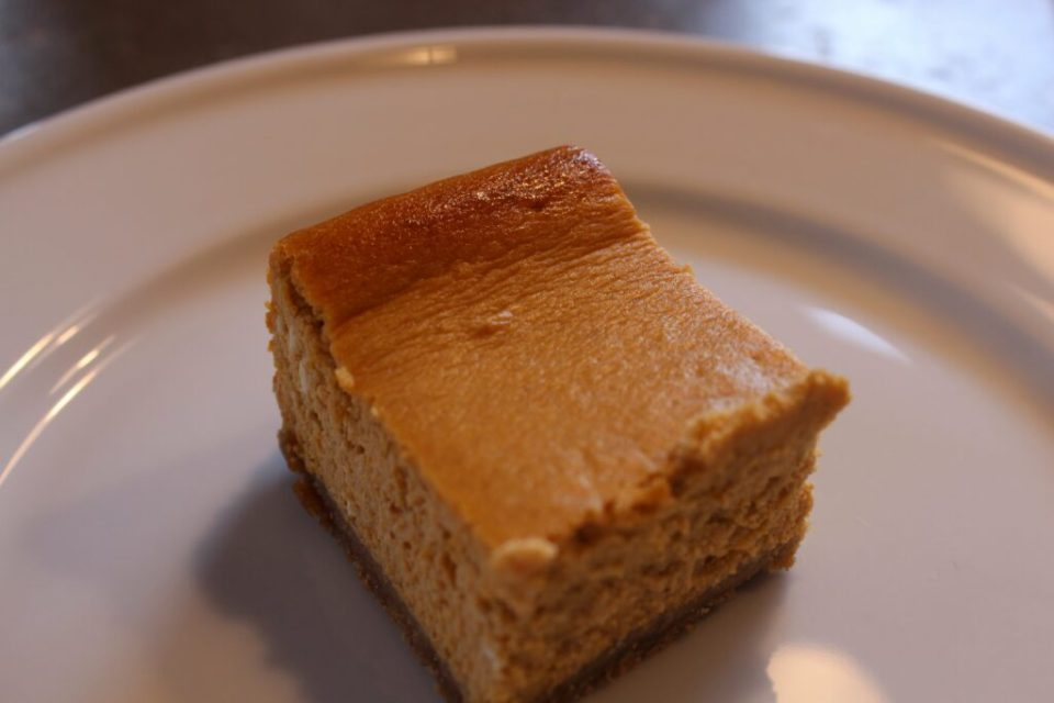 Gluten Free Spiced Pumpkin Cheesecake: 3ten.ca